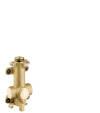 Grundkörper/ Wasserführung für Ablage 120/120 Unterputz
