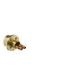 Extension set 28 mm for single lever basin mixer wall-mounted