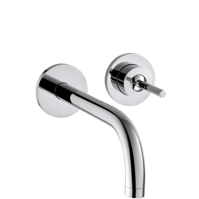 Axor uno waschtischmischer chrom 38116000 - Wandauslauf armatur ...