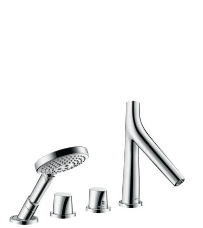 4-hole rim mounted thermostatic bath mixer