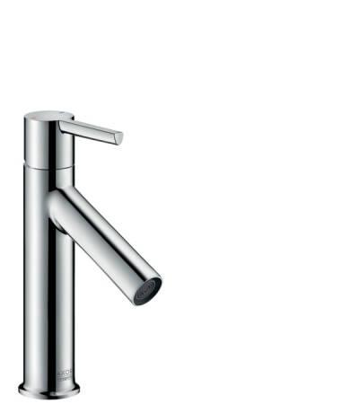 Einhebel-Waschtischmischer 100 mit Hebelgriff und Zugstangen-Ablaufgarnitur