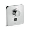 ShowerSelect thermostatic mixer highflow Softcube for 1 outlet and additional outlet for concealed installation