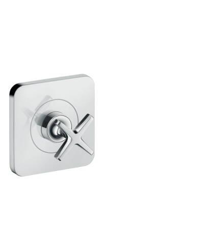 Shut-off valve 120/120 for concealed installation