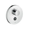 Thermostat HighFlow for concealed installation round for 1 function and additional outlet