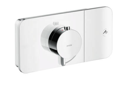 Thermostatic module for concealed installation for 1 function
