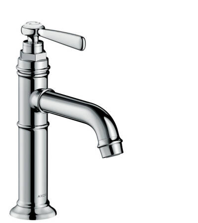 Single lever basin mixer 100 without pull-rod