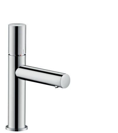 Single lever basin mixer 110 with zero handle and waste set