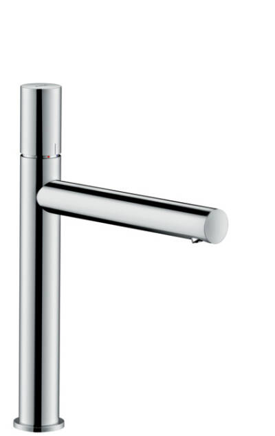 Single lever basin mixer 200 zero handle without pull-rod