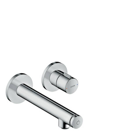 Basin mixer for concealed installation wall-mounted Select with spout 158 mm