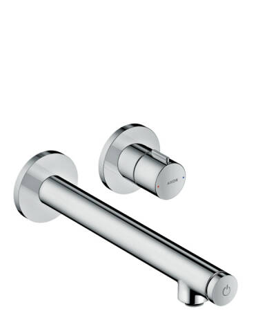 Basin mixer for concealed installation wall-mounted Select with spout 221 mm