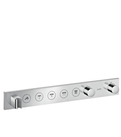 Thermostatic module Select 670/90 for concealed installation for 5 functions