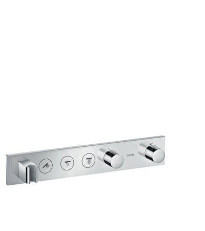 Thermostatic module Select 530/90 for concealed installation for 3 functions