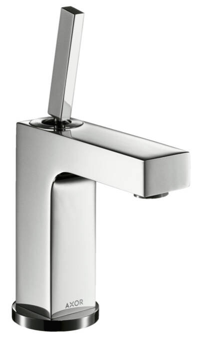 Single lever basin mixer 110 with pin handle and waste set