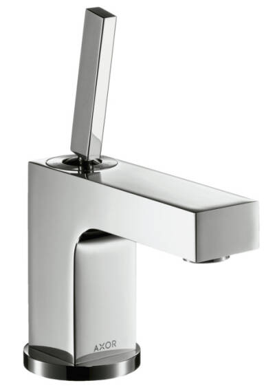 Single lever basin mixer 80 with pop-up waste set for hand wash basins