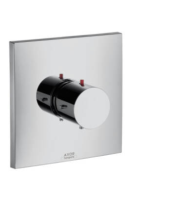 Thermostat for concealed installation