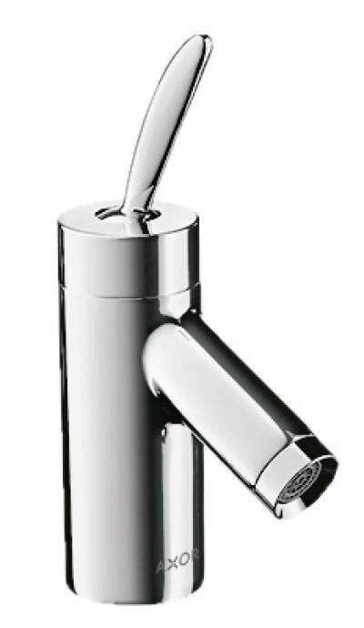Mezclador monomando de lavabo 60 con vaciador automático