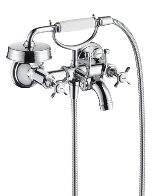 Axor Montreux Bath Mixers 2 Outlets Chrome 16540000