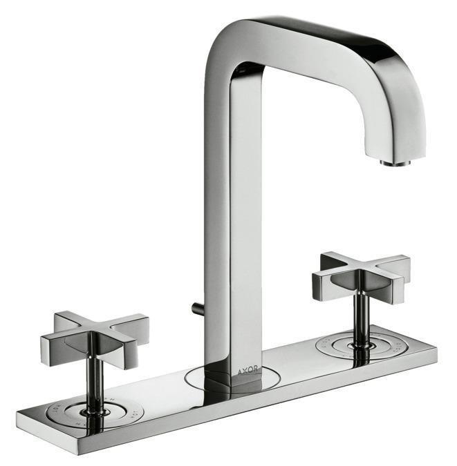 axor citterio waschtischmischer zweigriff chrom 39134000. Black Bedroom Furniture Sets. Home Design Ideas