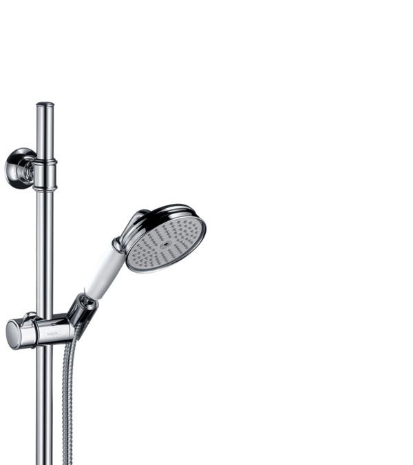 AXOR Shower sets: AXOR Montreux, shower set 0,90 m with hand shower ...