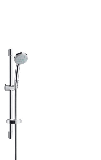 Fabulous hansgrohe Wallbar sets: Croma 100, Shower set Vario with shower ZD87