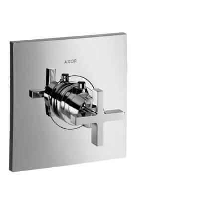 Thermostat 59 l/min Highflow Unterputz mit Kreuzgriff