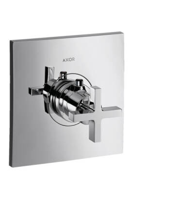 Thermostat HighFlow for concealed installation with cross handle