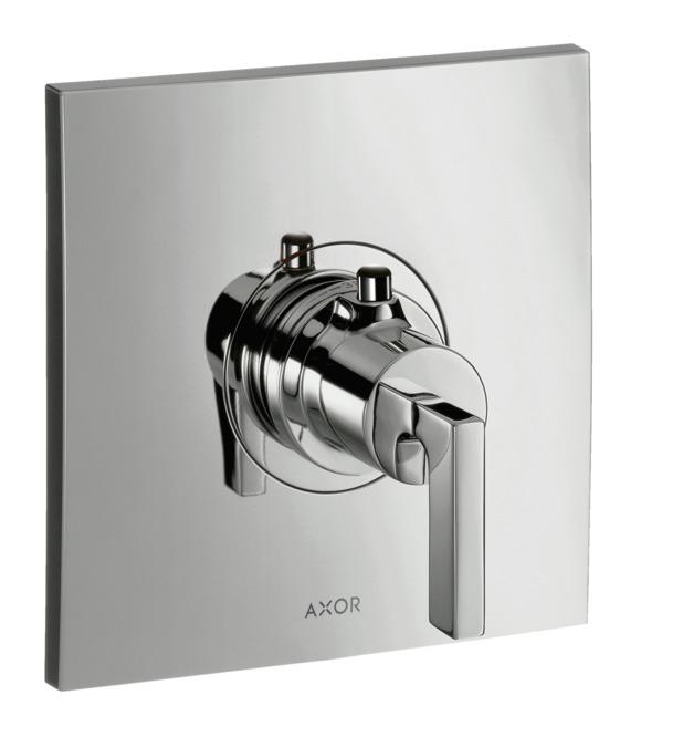 Axor Citterio Shower Faucets Single Lever Chrome 39711001