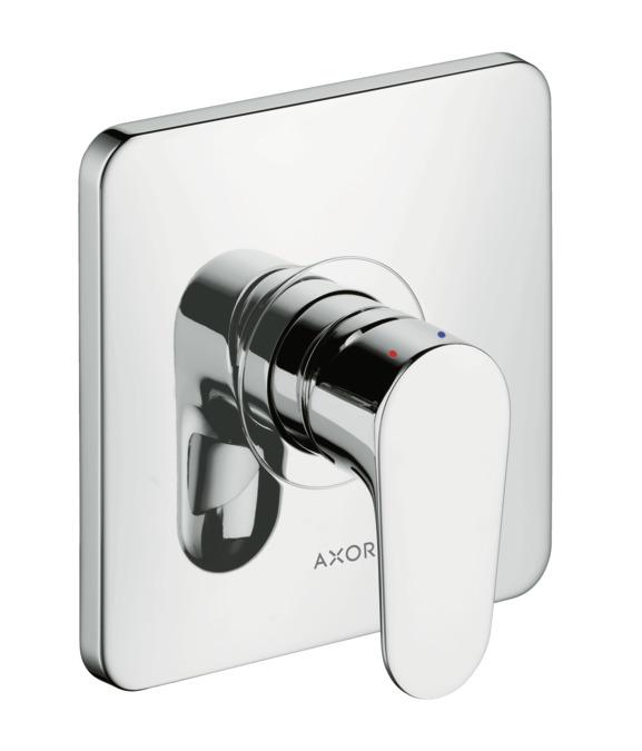 AXOR Citterio M Shower mixers: 1 outlet, chrome, 34625000