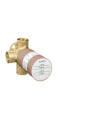Basic set for shut-off/ diverter valve Trio for concealed installation
