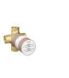 Basic set for Quattro four-way diverter valve for concealed installation