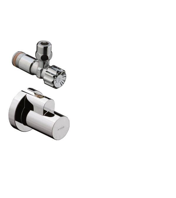 AXOR Siphons/Angle valves: Angle valve with cover outlet G 3/8, 51307000