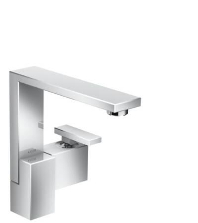 Mezclador monomando de lavabo 190 con vaciador push-open