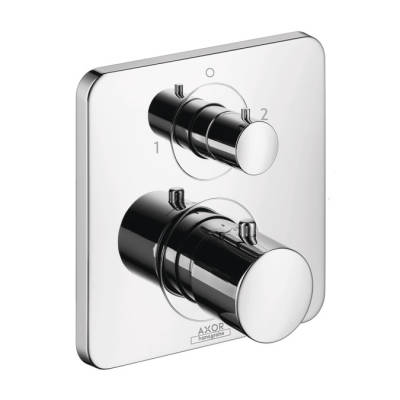 Axor Citterio M Thermostatic Trim with Volume Control and Diverter