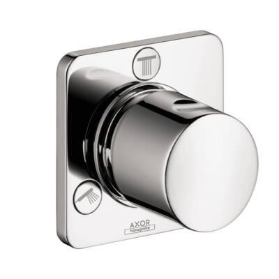 Shut-off/ diverter valve Trio/ Quattro for concealed installation