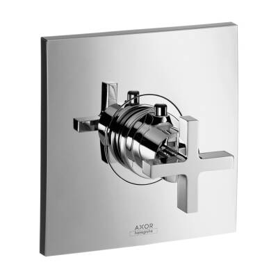 Axor Citterio termostato con manecillas de cruceta