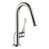 Single lever kitchen mixer with pull-out spray 1.75 GPM