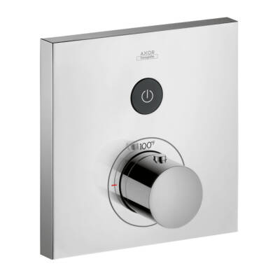 Axor ShowerSelect Square Thermostatic 1-Function Trim