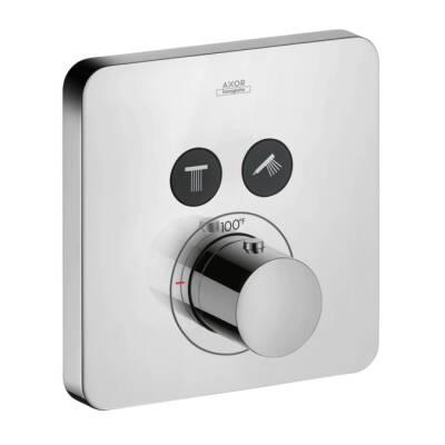 Thermostatic Trim SoftCube for 2 Functions