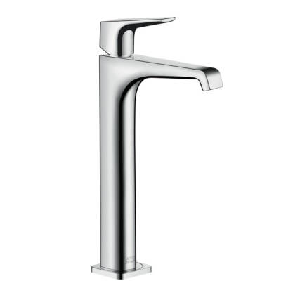 Axor Citterio E Single-Hole Faucet with Lever Handle without Pop-Up, Tall