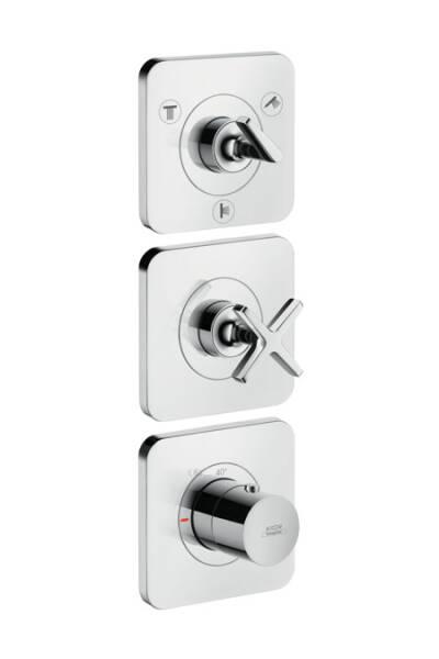 Módulo de termostato con llave de paso e inversor Quattro para 3 salidas, 15