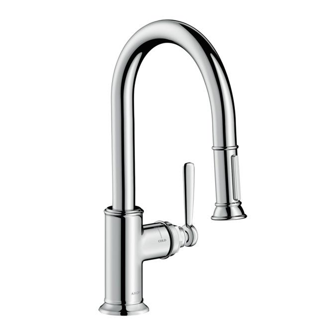 AXOR Kitchen faucets: AXOR Montreux, Axor Montreux 2-Spray Prep ...