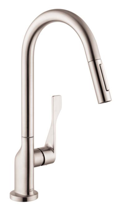 Axor Citterio  Spray Prep Kitchen Faucet Pull Down