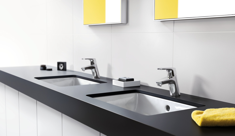 Focus Washbasin mixers: chrome, 31730000