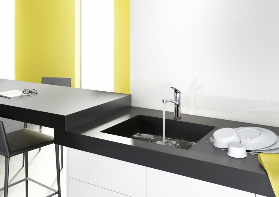 Neu hansgrohe Kitchen mixers: Focus, Single lever kitchen mixer 160  VC42