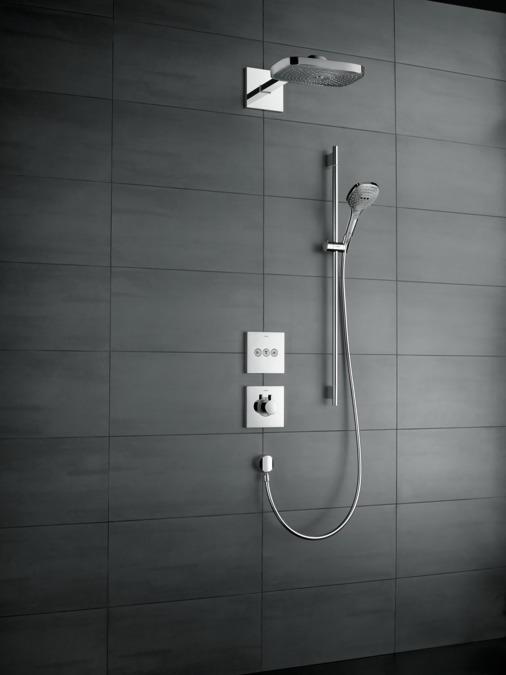 hansgrohe Overhead showers: Raindance Select E, 3 spray modes ...