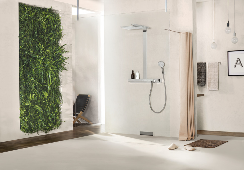hansgrohe Shower pipes: Rainmaker Select, 3 spray modes, 27106400