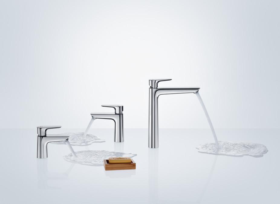 Neu Talis E Washbasin mixers: single lever, chrome, 71710000 IS38