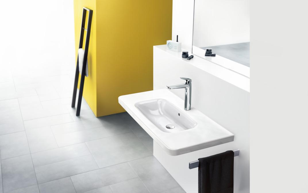 logis washbasin mixers chrome 71091000. Black Bedroom Furniture Sets. Home Design Ideas