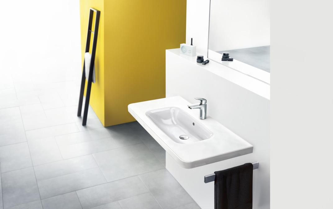 logis washbasin mixers chrome 71102000. Black Bedroom Furniture Sets. Home Design Ideas