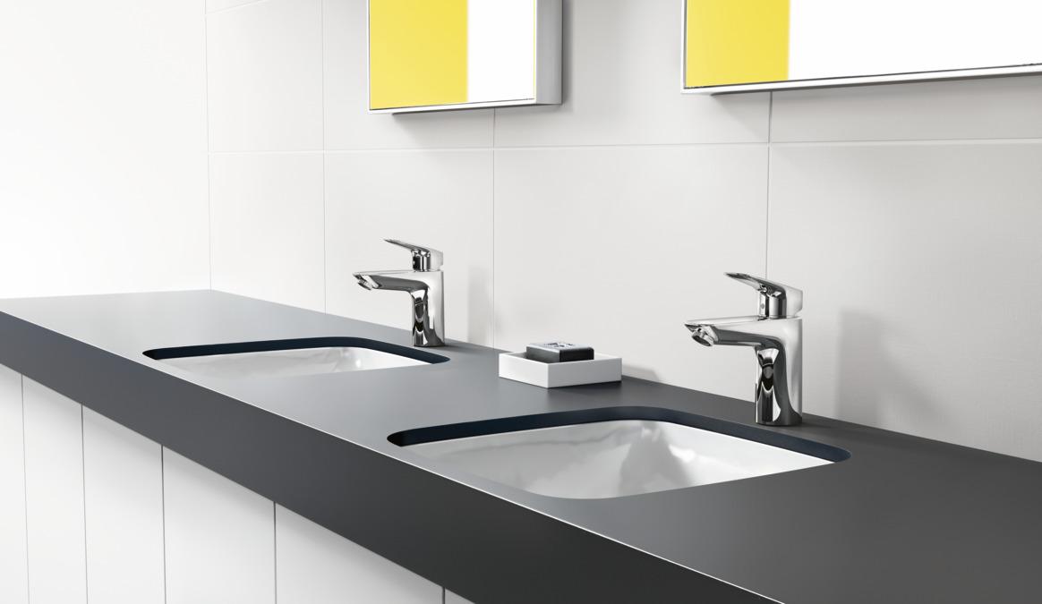 Logis Washbasin mixers: Chrome, 71100000